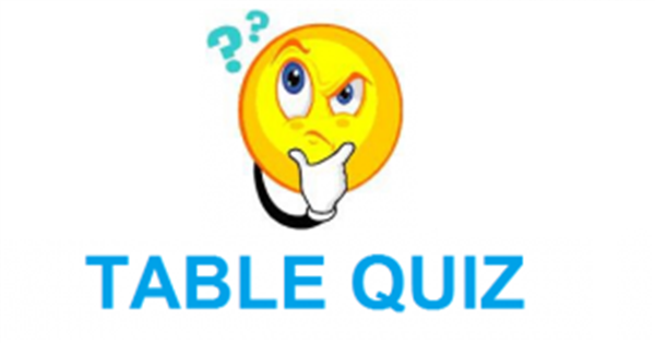 Table Quiz