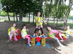 Senior Infants visit Sundrive Park