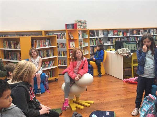 Second Class Visit St. Kevin's Library