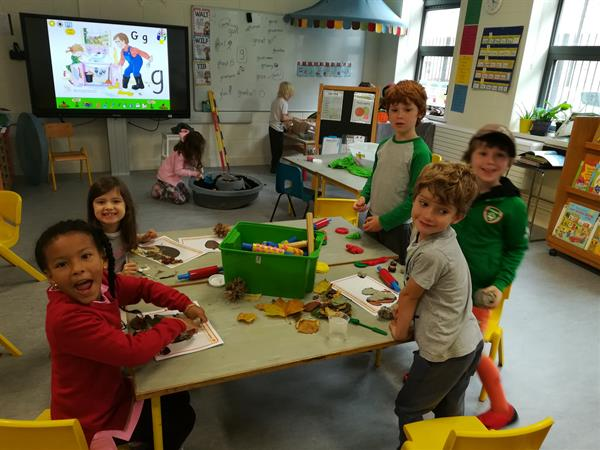 Autumn Learning in Senior Infants