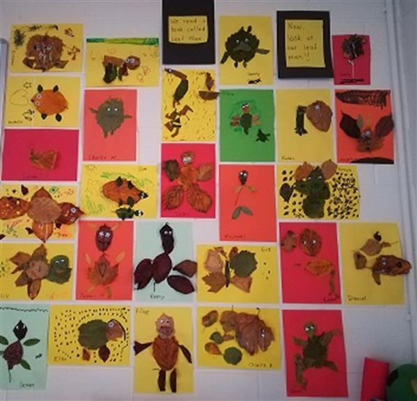 Autumn Learning in Senior Infants