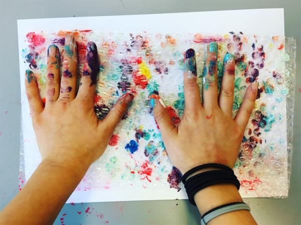 Printastic art in 3rd Class