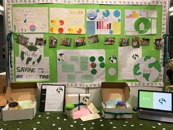 6th class showcase their entrepreneurial idea