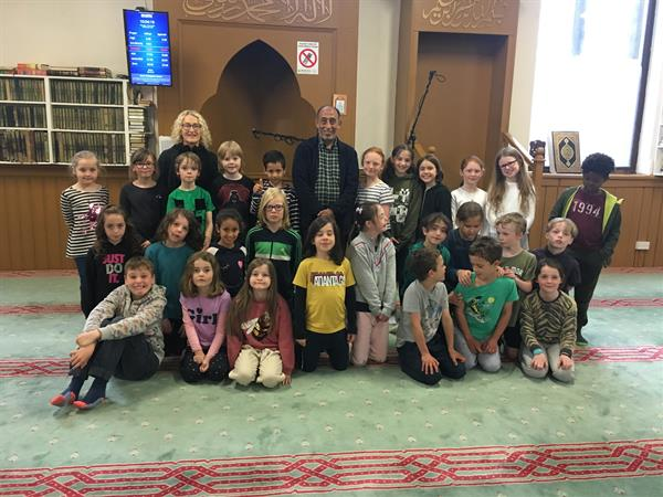 2nd Class at the mosque