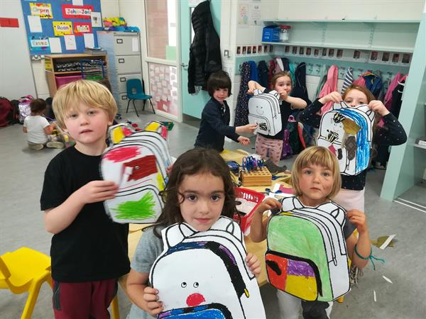 Playing School @ School .... in Senior Infants