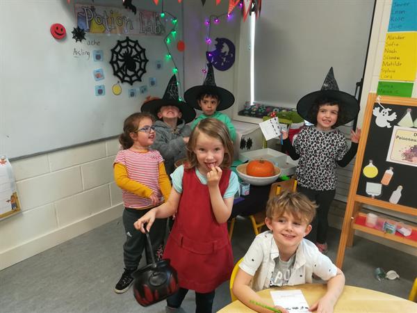 Spooky Fun in Senior Infants