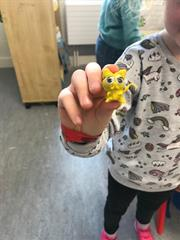 Creativity during Golden Time in 2nd class