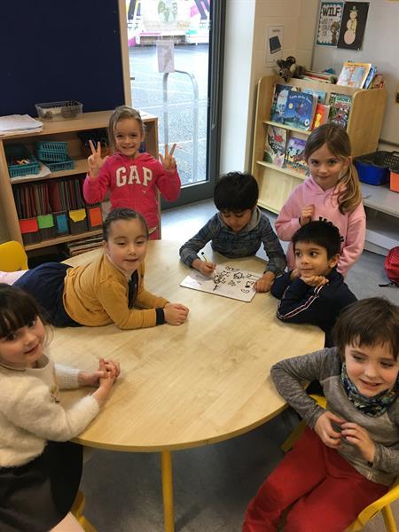 Junior/Senior infants collaboration