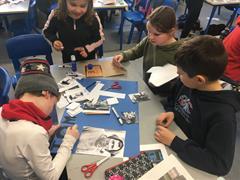 3rd class exploring the life of Tom Crean