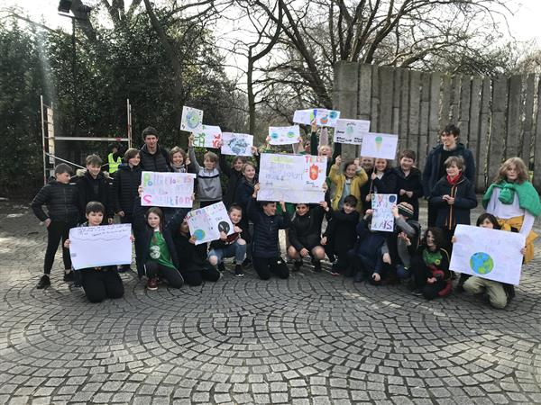 Fifth Class March at Fridays For Future
