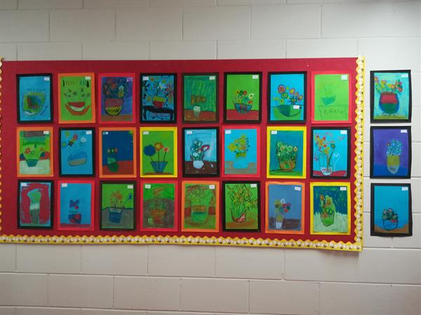 Awesome Artists in Senior Infants