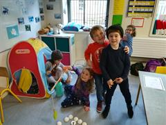 Polar explorers in Senior Infants Ruth