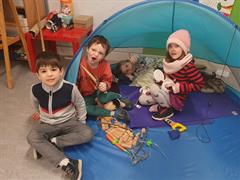 Senior Infants Claire are Polar explorers!