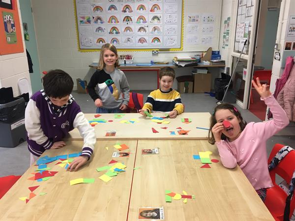 Rang Gráinneog- Learning about Shapes