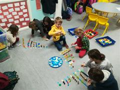 Senior Infants have been busy