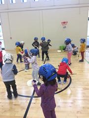 Junior infants love getting active